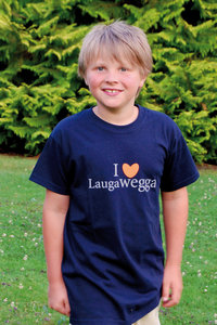 "Kinder T-Shirt ""Laugawegga"""